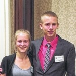 Rabenstein, Steiner earn awards