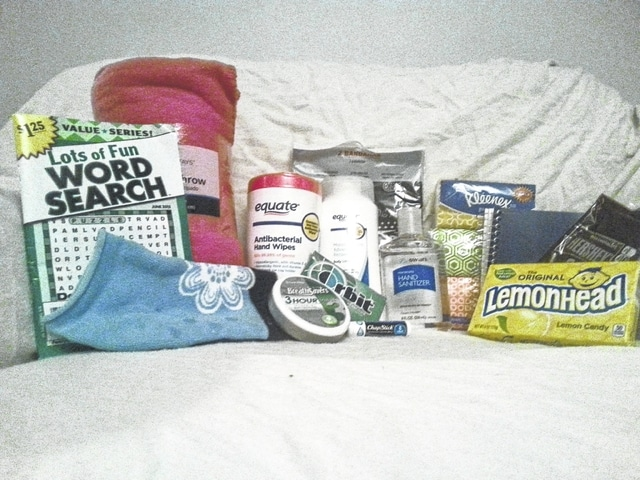 "The Cancer Association of Champaign County is providing cancer patient care packages to county residents battling cancer. For $21, sponsor a care package for a local resident, in honor or in memory of a loved one. Each package contains a fleece throw, puzzle book, pair of socks, antibacterial wipes, lotion, bandanas, hand sanitizer, gum, mints, lip balm, tissues, lemon drops, a notebook and pen, and chocolate. Make checks payable to Cancer Association of Champaign County and write ""care package"" in the memo. Checks may be sent to P.O. Box 38125, Urbana, OH 43078. Those donating funds are encouraged to send a card or note of encouragement. For more information, contact Jade Campbell at jadecampbell69@gmail.com."