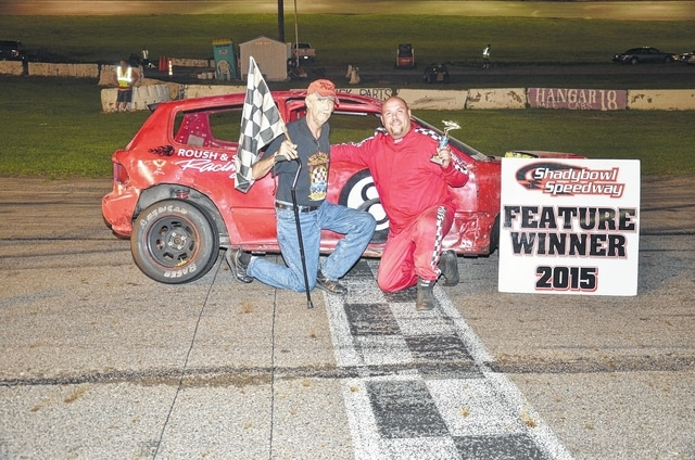 Rodney Roush (pictured) was a winner in the Tuner division Saturday night at Shady Bowl Speedway.