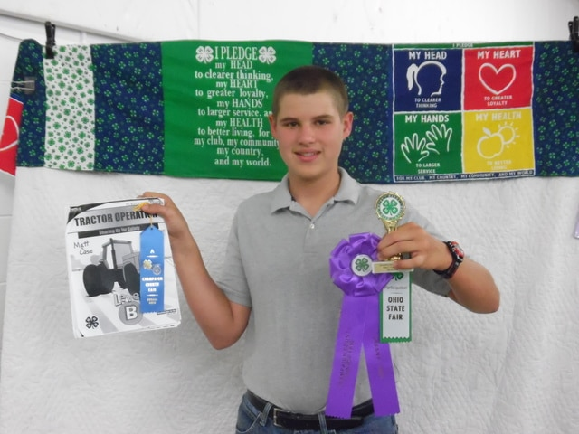Matthew Case-Gearing Up for Safety- Rosette & State Fair