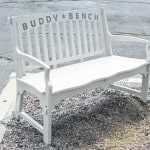 Donors replace 'Buddy Bench'