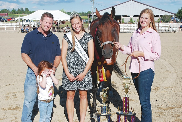 Kayleigh Bernow, Reserve Overall Horsemanship Equitation; sponsored for $300 by Mack Wright, DDS, Kenna Wright and the Bernow Family