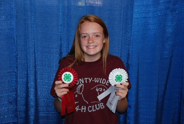 Lily Cooksey, Second Place Intermediate Cavy Poster