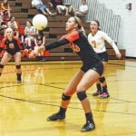 Triad falls in volleyball; Urbana wins