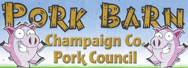 The Champaign County Pork Council Pork Barn's sales during the Champaign County Fair benefit scholarships for area 4-H students and improvements to the fairgrounds.