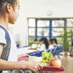 School lunch may be healthier than packed