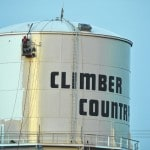 'Climber Country' water tower gets makeover
