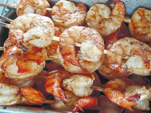 Grilled shrimp will be among offerings at the Ohio Fish and Shrimp Festival.
