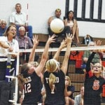 WL-S tops Triad in volleyball