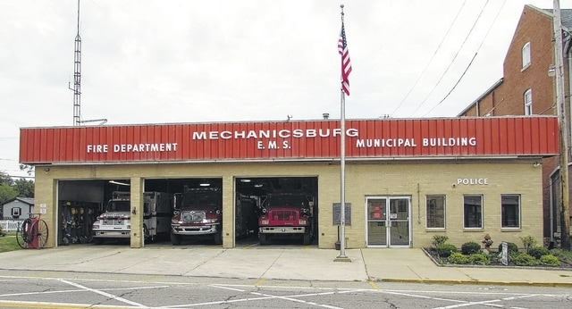 Mechanicsburg Village Council is seeking voter approval on Nov. 3 for a levy that would generate funds for the purchase of replacement fire and EMS vehicles. Pictured in the bays at the Mechanicsburg Municipal Building, 18 N. Main St., are some of Mechanicsburg Fire & EMS' emergency vehicles.