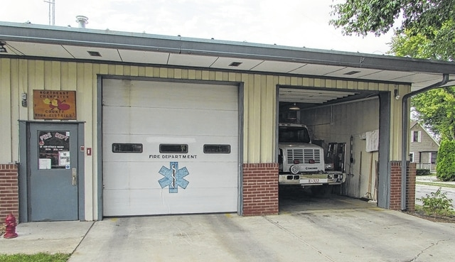 Pictured is the Northeast Champaign County Fire District Station 321 located in the North Lewisburg Municipal Building at 60 E. Maple St.