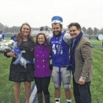 New President of Urbana University, Dr. George Lucas and wife Debbie, crowned Homecoming King – Taylor Cayot of Bellefontaine and Queen – Macie Jenkins of Cable.