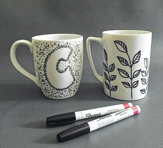 Design your own mug Nov. 7 at the Champaign County Arts Council, 119 Miami St. Admission charge of $5 covers a mug and decorating supplies. For more information, call the Champaign County Arts Council at 937-653-7557.