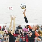 Tigers top Cards in volleyball