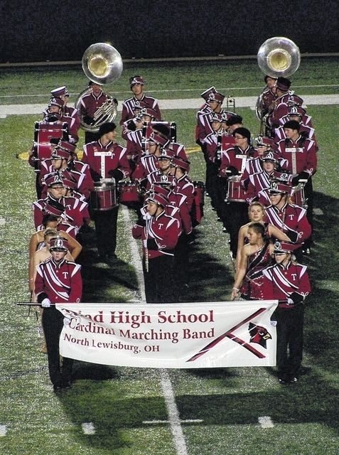 The Triad Marching Band will perform on Nov. 8.