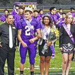 Cook, Sanford crowned M'burg royalty