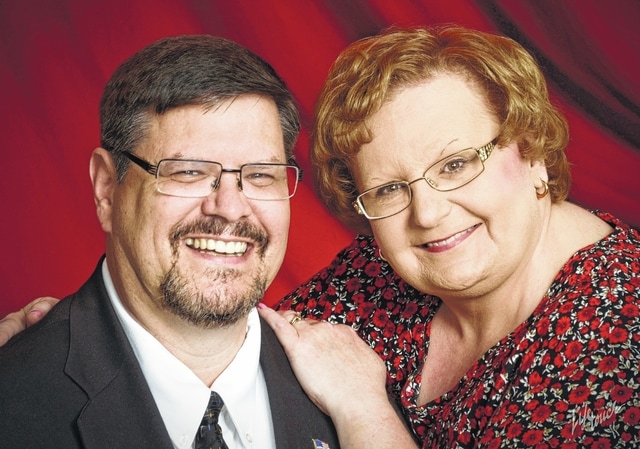 Rev. and Mrs. Fred Peterson