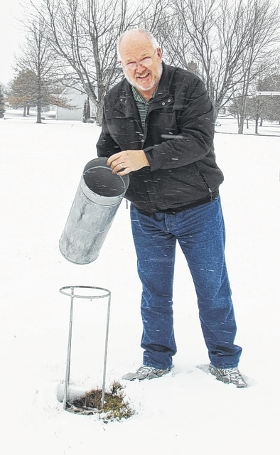 St. Paris resident Jeff McCulla is a local precipitation observer for the National Weather Service and Miami Conservancy District. The NWS will honor McCulla with an award marking 30 years of observing and recording rain and snow totals for St. Paris on March 11.