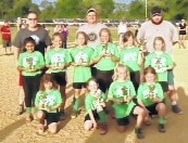 Urbana Youth Sports/Champaign County League 8U tournament's runner-up team was sponsored by the Moose Lodge. The team included Coach David Stokes, Head Coach Mike Retterer, Coach Blake Castle, second row, Aubrie Retterer, Alayna Stacy, Morgan Boyd, Corynn Ryan, Mattison McClorey, Addison Castle, first row, Mallory Stokes, Braelyn Roosa, Bailey Prater, Lola Rice.