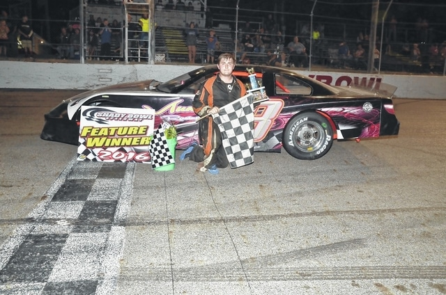 Jacob Muncy (pictured) won his third event of the season at Shady Bowl with his performance on Saturday.
