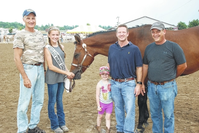 Addy Johnson was the Reserve Ambassador and Intermediate Skillathon winner. Her horse brought $300 in sponsorships from Blair's Photography, Dr. Mack Wright and Heritage Cooperative.