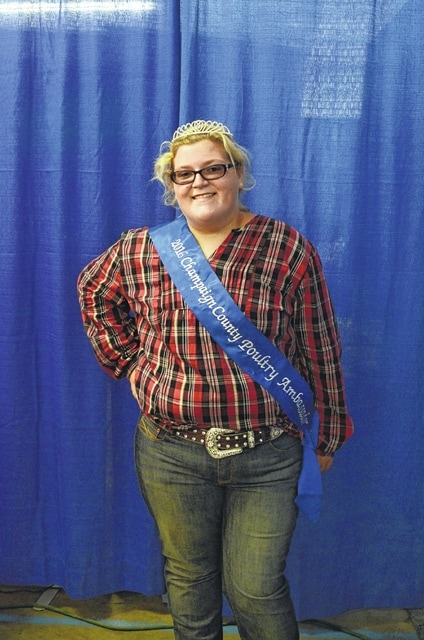 Brandi Powell was named the 2016 Poultry Ambassador.