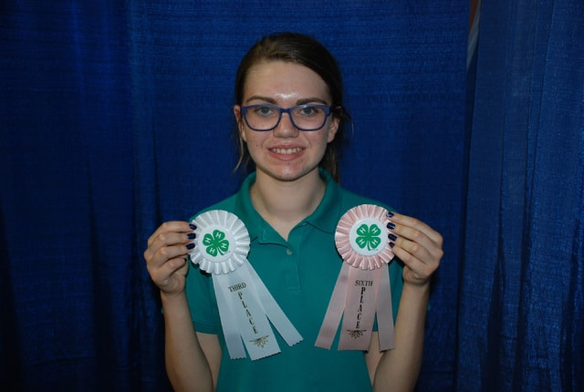 Megan Snyder - 3rd in Level 3 Rabbit Poster and 6th in Rabbit Skillathon