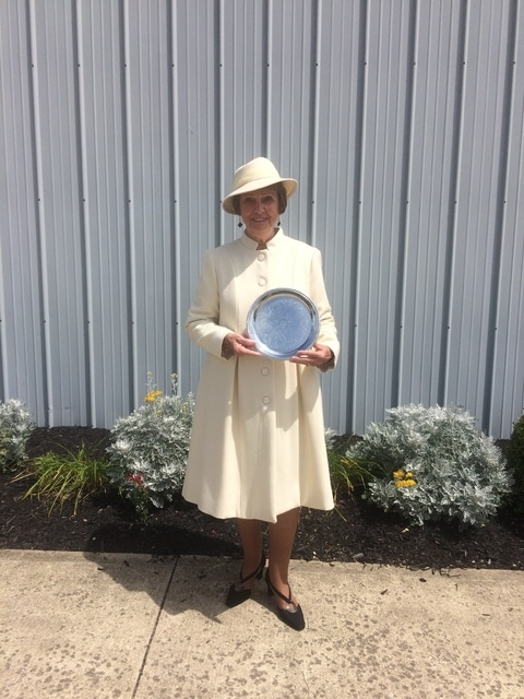 Adult division Best of Show winner was Virginia Stanley with her wool coat.