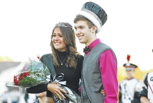 Graham High School announced its 2016 Homecoming royalty before Friday night's game against visiting Greenon. Sophie Lingrell was selected queen. Andrew Ford was selected king.