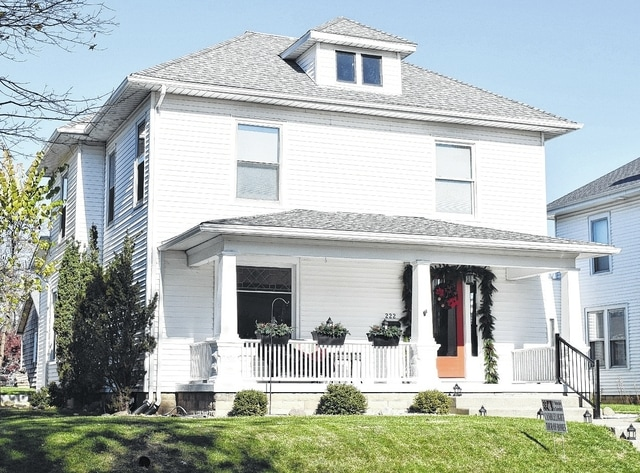 The Scott and Amy Brinker home at 222 Lincoln Place is on this year's Candlelight Tour of Homes.