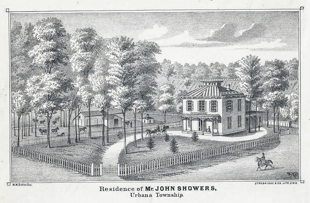 This sketch is from the 1874 Champaign County Atlas.