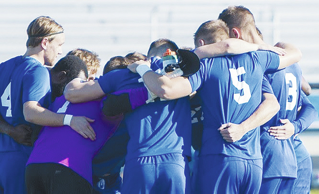 The Urbana University men's soccer team (pictured) was ranked 13th in the final NCAA Division II poll of the season.