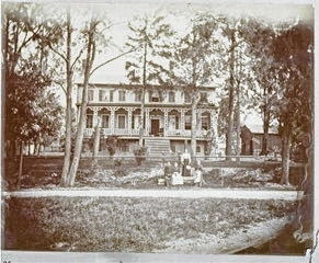 This photo, courtesy of the Champaign County Historical Society, was taken about 1890 and shows the Blue Bell Tavern, built near the West U.S. Route 36 and Runkle Road intersection in 1827.