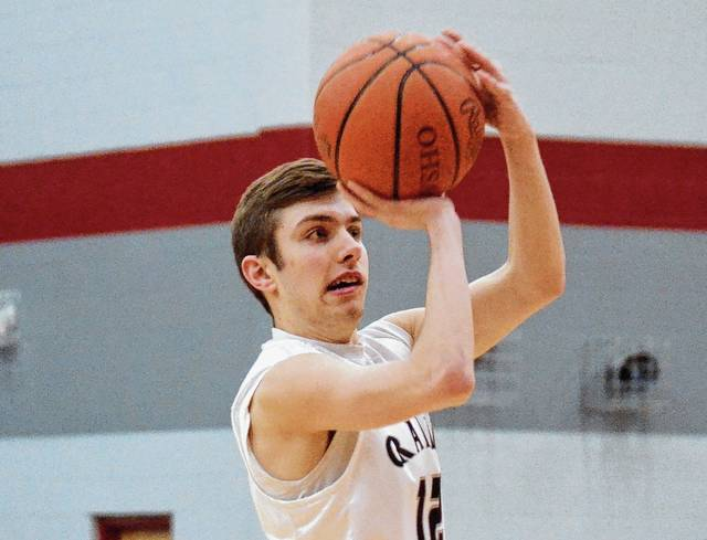 Graham's Andrew Ford (pictured) participated in the Division I-II-III boys contest of the District 9 All-Star games on Friday, along with Urbana's Kalen Howell and West Liberty-Salem's Kannon Stillings and Tyler Louden. Urbana's Hunter Rogan played in the girls game, along with West Liberty-Salem's Mikalia McIntosh and Lily Yoder. WL-S Coach Dennis McIntosh was recognized as the Girls Coach of the Year in Division III in District 9.