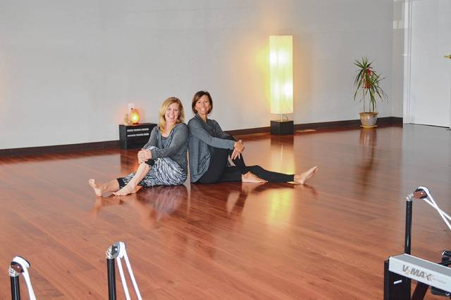 Kelly Roberts (left) and Tina Jones are teaming up for fitness offerings.