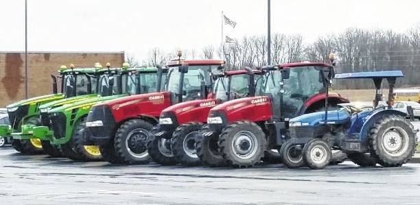 Triad High School students used their tractors to get to school April 7 for Drive Your Tractor to School Day. The day was in honor of FFA Week at the school.