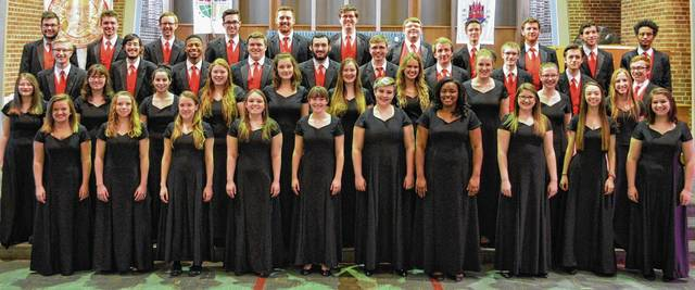 The Wittenberg Choir will perform at Mechanicsburg United Methodist Church on April 30.