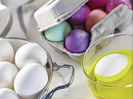 If eating Easter eggs is part of the festivities, steps must be taken to make sure they are safe to eat.