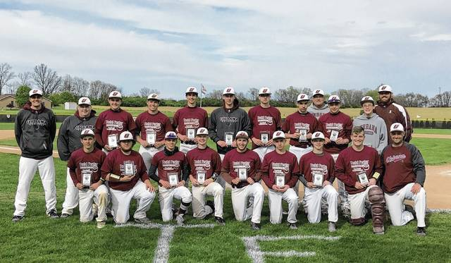 Urbana's baseball team (pictured) won the Todd Foster Memorial Tournament on Saturday at Bob Brenning Field in Urbana. The Hillclimbers defeated Carroll and Northeastern to claim the title.