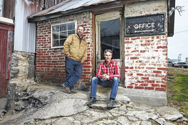 Frank Fritz, left, and Mike Wolfe, the stars of <em>American Pickers</em>, will be bringing the show to Ohio in June and are looking for leads.