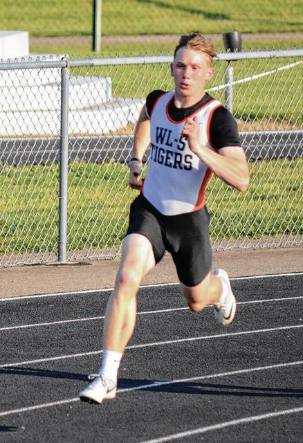 Raiph LeVan (pictured) has only been running the 400 for about half a season, but he's headed to Columbus as a state participant on Friday.