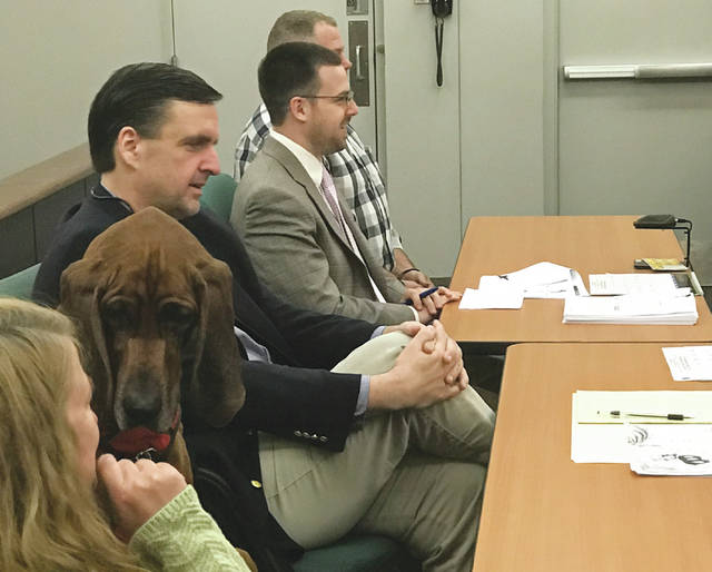 The Champaign County Municipal Court hosted multiple groups of kindergartners from Urbana North Elementary last week as part of a mock trial. The event gave students an opportunity to decide whether Copper the Dog ate green eggs and ham.