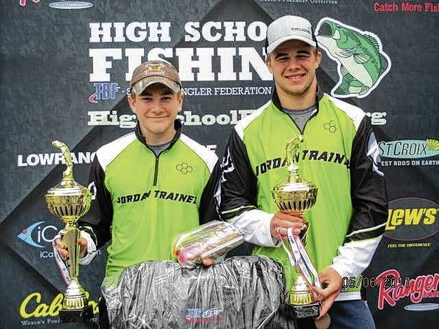 Rocky Jordan and Tanner Jordan will compete in High School Fishing National championship.