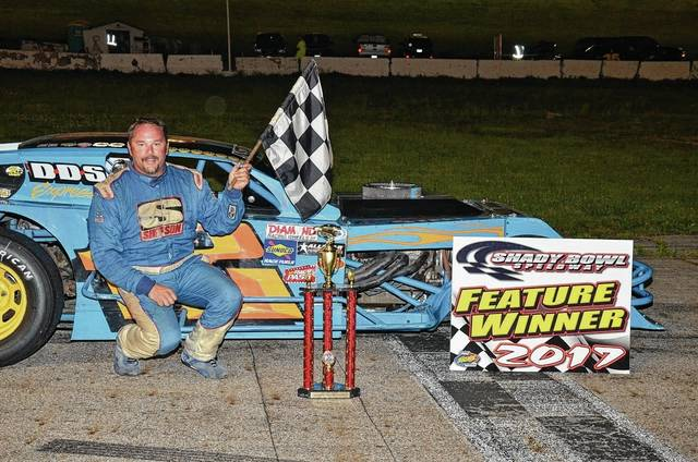 Chad Poole of Springfield won the 40-lap Modified feature at Shady Bowl Speedway on Saturday.