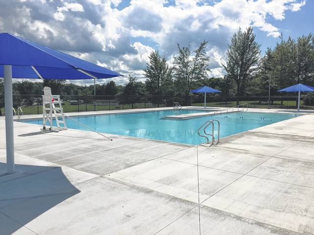 The highly anticipated new swimming pool at Indian Lake's State Park Campground was expected to open the Fourth of July.