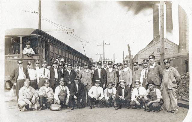 This photo is of Interurban employees at the power house. Learn about the Dayton, Springfield, and Urbana Electric Railroad at 2 p.m. Sunday, June 11, at the Champaign County Historical Society, 809 East Lawn Ave., Urbana. New Carlisle resident Scott Suther is a member of both the New Carlisle Historical Society and the Medway Area Historical Society, of which he is vice president. He will present the history of the Dayton, Springfield, and Urbana Electric Railroad, which started before the development of the automobile and for 40 years continued as an important means of transportation for people and freight. As always this program is free and open to the public.