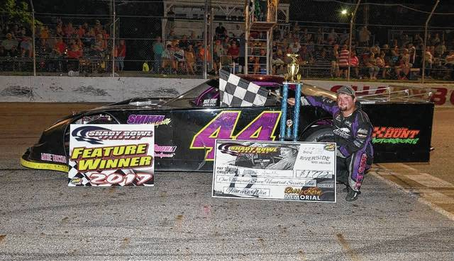 Josh Smith of Quincy won the 72-lap Bob Korn Memorial on Saturday at Shady Bowl Speedway.