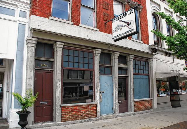 Formerly Little Nashville, the historic building at 115-117 S. Main St. in downtown Urbana will undergo rehabilitation work this fall. On Wednesday, the Ohio Development Services Agency announced it has awarded the property owners – John and Roy Doss – an Ohio Historic Preservation Tax Credit totaling $31,250 to help cover a portion of the estimated $222,686 project.