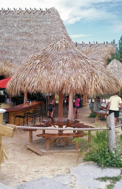 No, this is not a tropical bar & grill on a Caribbean island, but it is the next best thing and sure a lot closer, on Put-in-Bay.