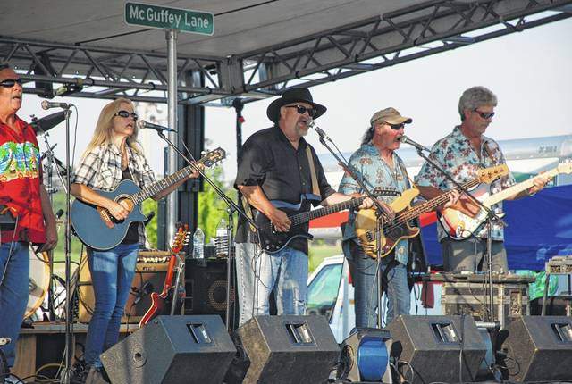 McGuffey Lane performs during the second annual Rhythm & Foods Festival held last year at the Champaign County Fairgrounds. The band will hit the stage again this year at 5 p.m. Friday, June 16.